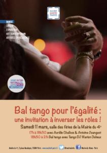 Bal tango pour l'égalité (Flyer)