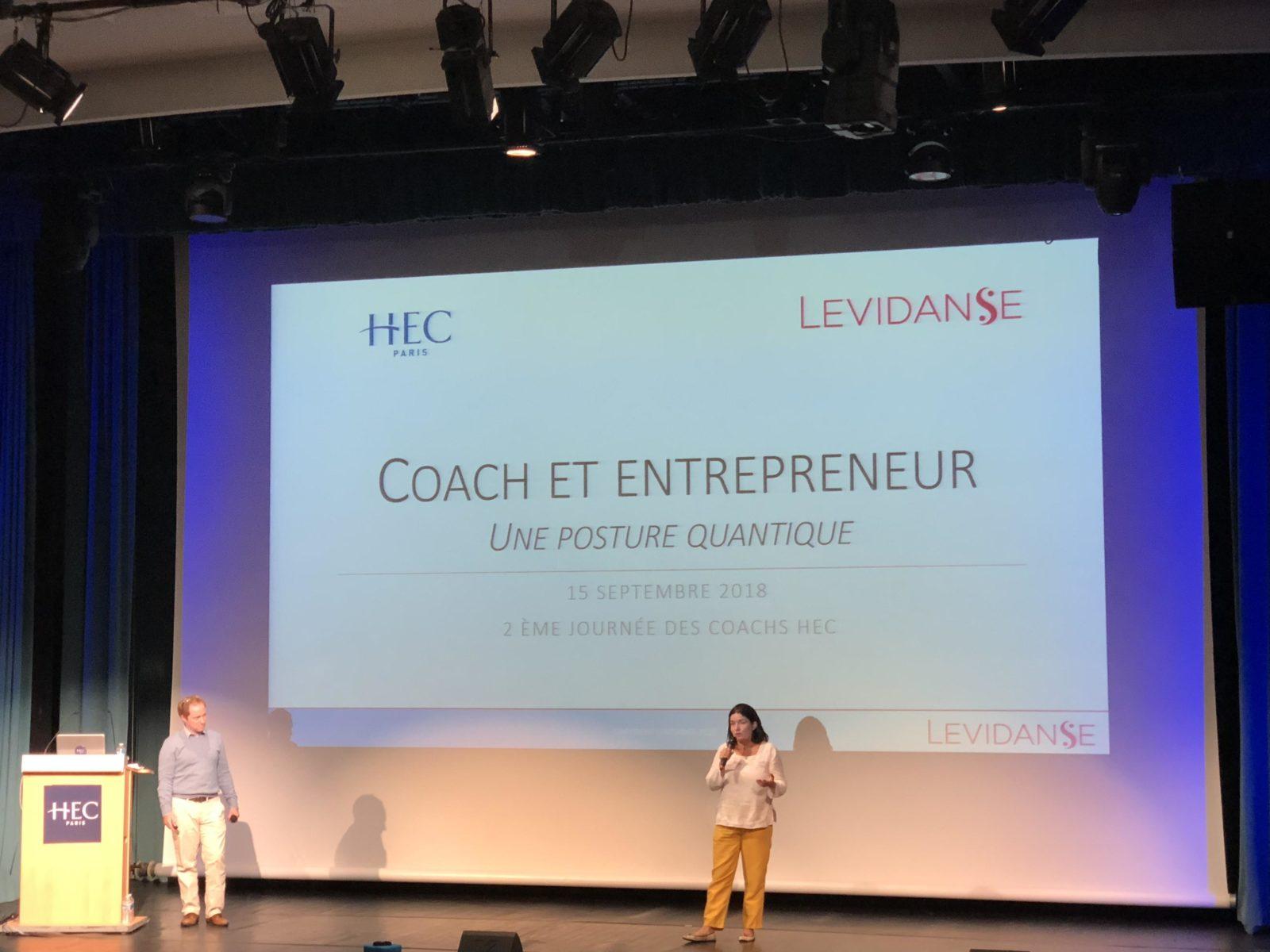 """Conférence """"Le coach-entrepreneur - une posture quantique"""""""